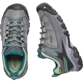 Keen Targhee EXP WP Shoes Women Steel Grey/Basil